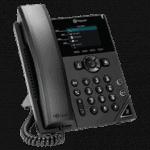 VVX 250 Polycom phone