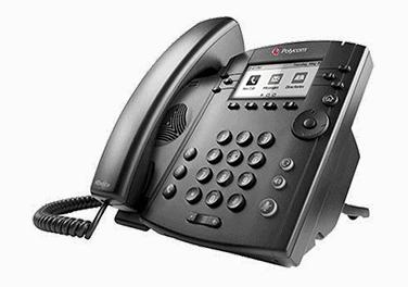 VVX 201 Polycom phone