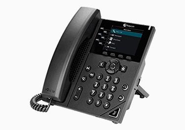 VVX 350 Polycom phone