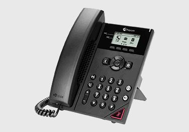 VVX 150 Polycom phone