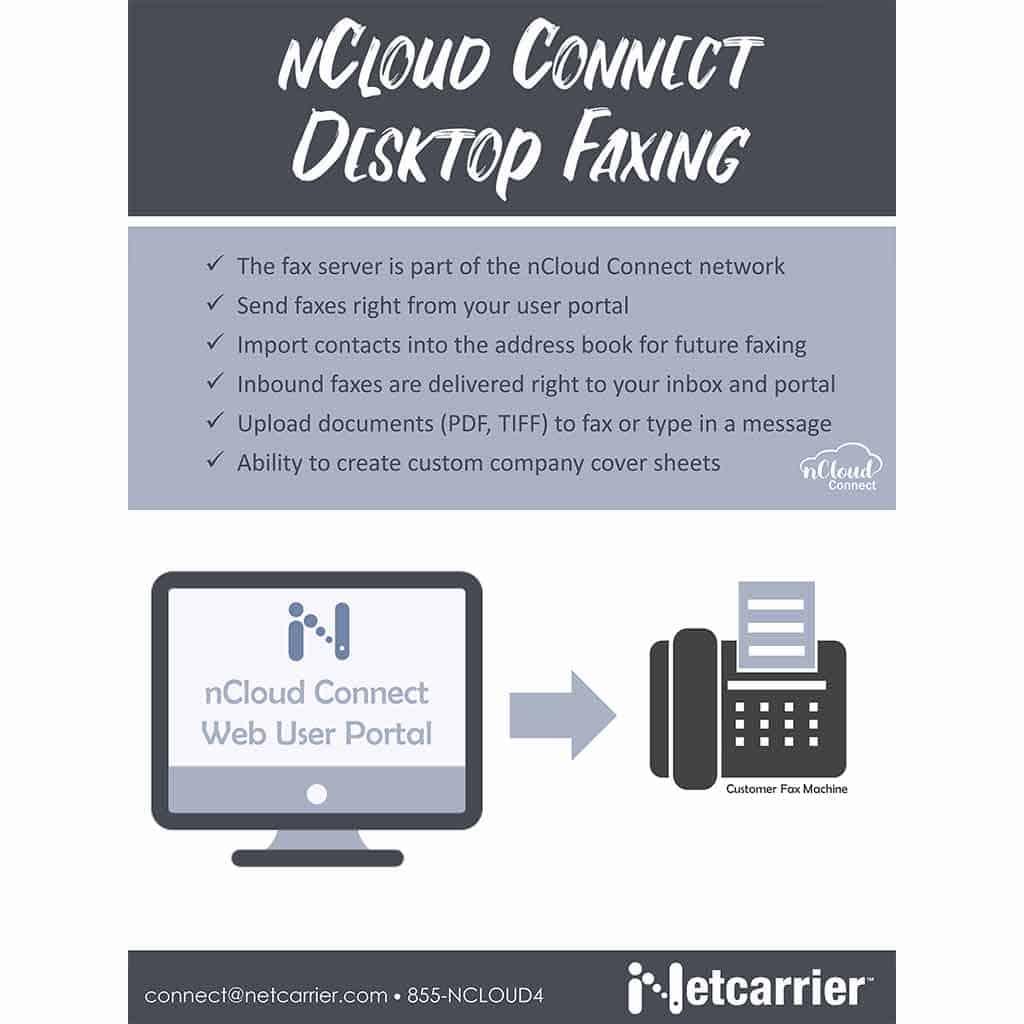 nCloud Connect Desktop Faxing