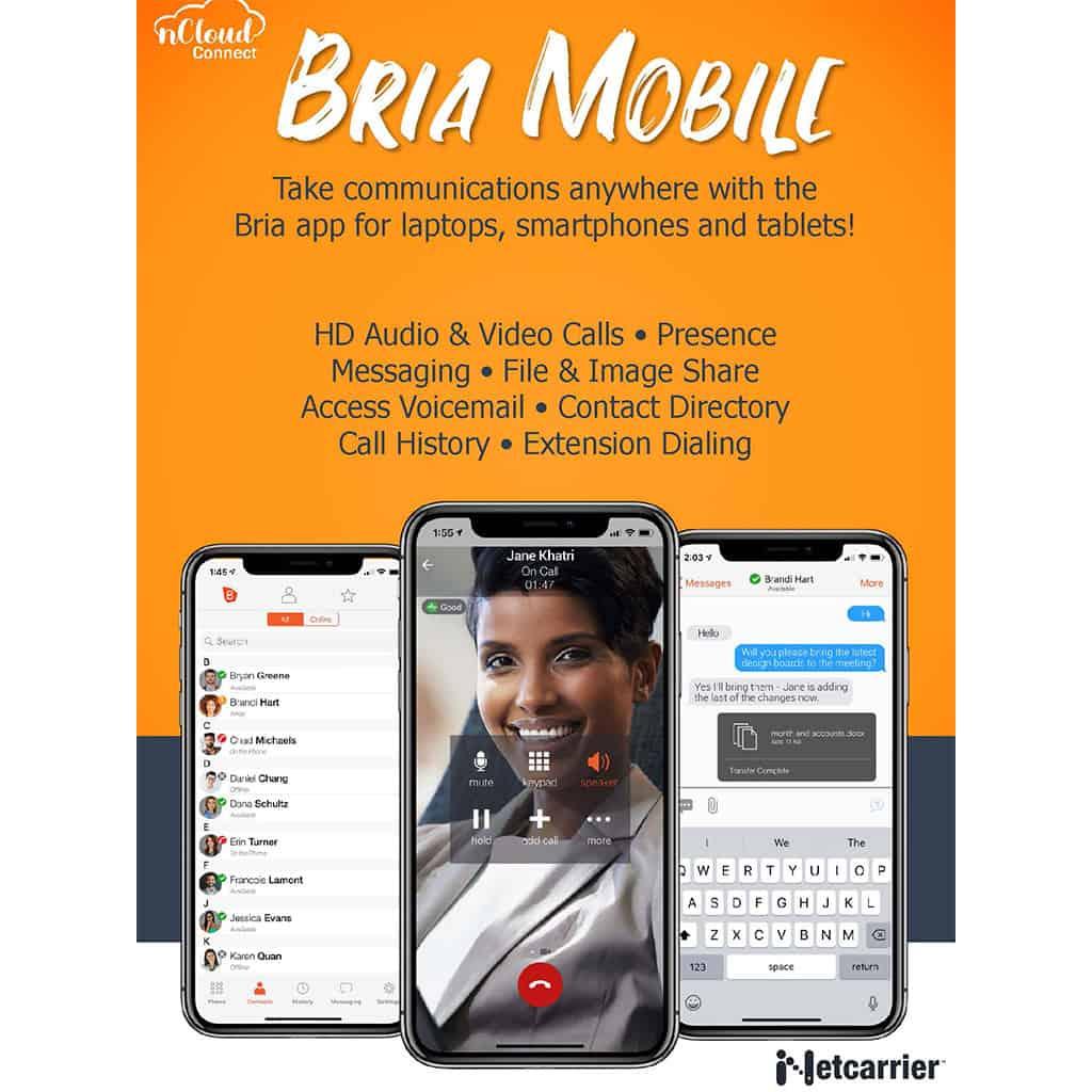 nCloud Bria Mobile Image
