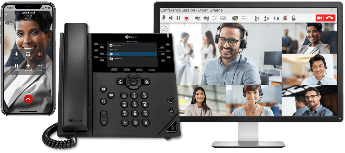 Mobile Pc Polycom Conference Phone System